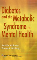 Diabetes and the Metabolic Syndrome in Mental Health Book