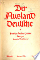 Deutschtum im Ausland