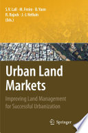 Urban Land Markets