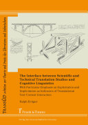 The Interface between Scientific and Technical Translation Studies ...