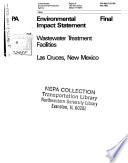 Las Cruces Wastewater Treatment Facilities Book