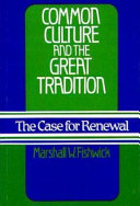Common Culture and the Great Tradition