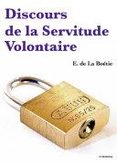 Pdf Discours de la Servitude Volontaire Telecharger