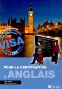 Visa pour la certification d'anglais