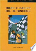 Turbo Charging The Hr Function Book PDF