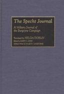 The Specht Journal