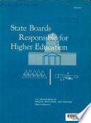 State Boards Responsible For Higher Education