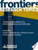 Toxicogenomics in non-mammalian species