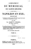 Napoléon en exil