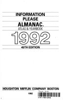 The 1992 Information Please Almanac Book