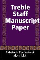 Treble Staff Manuscript Paper