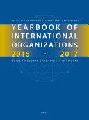 Yearbook Of International Organizations 2016 2017 Volumes 1a 1b Set