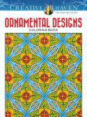 Creative Haven Ornamental Designs Coloring Book