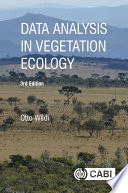 Data Analysis in Vegetation Ecology  3rd Edition Book