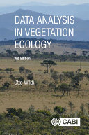Data Analysis in Vegetation Ecology  3rd Edition