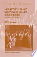 Law at War