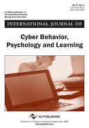 International Journal of Cyber Behavior  Psychology and Learning  Vol 2 ISS 2