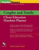Couples and Family Client Education Handout Planner