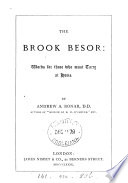 The Brook Besor  Words for Those who Must Tarry at Home