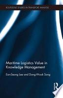 Maritime Logistics Value In Knowledge Management Book PDF