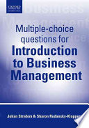 Multiple-Choice Questions for Introduction to Business Management