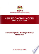 New Economic Model for Malaysia