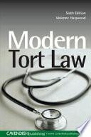 Modern Tort Law