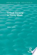 Critical Thinking In Young Minds PDF