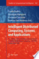 Intelligent Distributed Computing  Systems and Applications