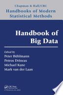 Handbook of Big Data