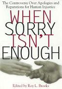 When Sorry Isn't Enough Pdf/ePub eBook