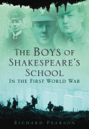 The Boys of Shakespeare's School in the First World War Pdf/ePub eBook