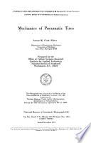 Mechanics Of Pneumatic Tires