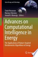 Advances on Computational Intelligence in Energy Book