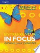 The Entrepreneur In Focus