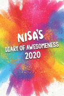 Nisa s Diary of Awesomeness 2020 Book