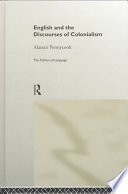 English and the Discourses of Colonialism Book