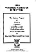 Forensic Services Directory