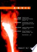 Anvil Journal Volume 21 No 1 2004