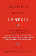Pdf The Vintage Book of Amnesia