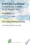 2012 Eurocall Conference Proceedings
