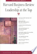 Harvard Business Review on Leadership at the Top