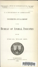 Fourteenth Annual Report Of The Bureau Of Animal Industry For The Fiscal Year 1897