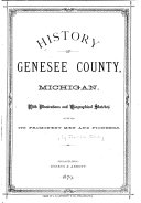 History of Genesee County, Michigan