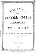 History Of Genesee County Michigan