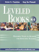 Leveled Books K 8  PDF