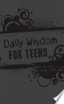 Daily Wisdom for Teens Book