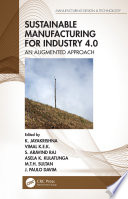 Sustainable Manufacturing for Industry 4 0 Book