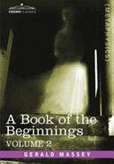 A Book of the Beginnings Pdf/ePub eBook