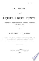 A Treatise on Equity Jurisprudence Book